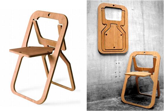 Desile Folding Chair By Christian Desile