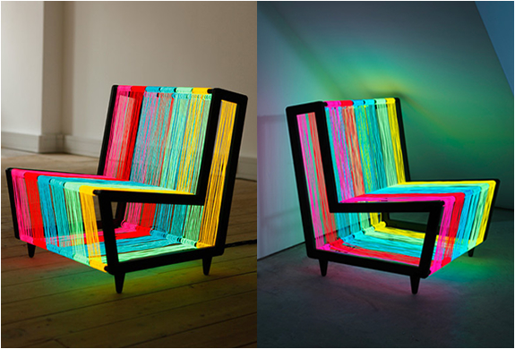 Disco chair by kiwi pom for Materiel culture interieur