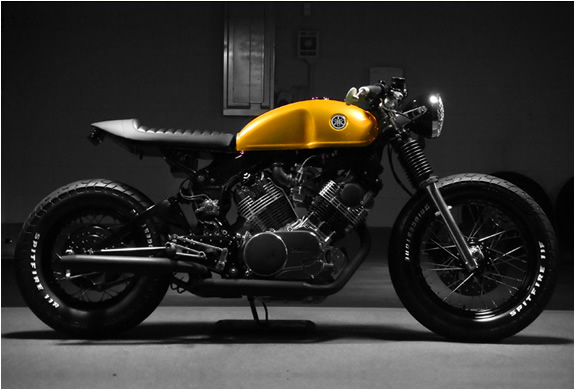 CUSTOM YAMAHA VIRAGO CAFE RACER | BY DOCS CHOPS | Image