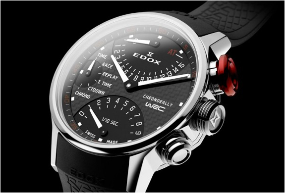 WRC CHRONORALLY WATCH | BY EDOX | Image