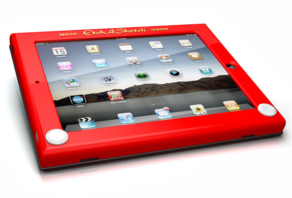 Etch A Sketch Ipad Case | Image
