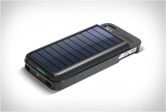 MOBIUS : IPHONE SOLAR POWERED CASE : Image