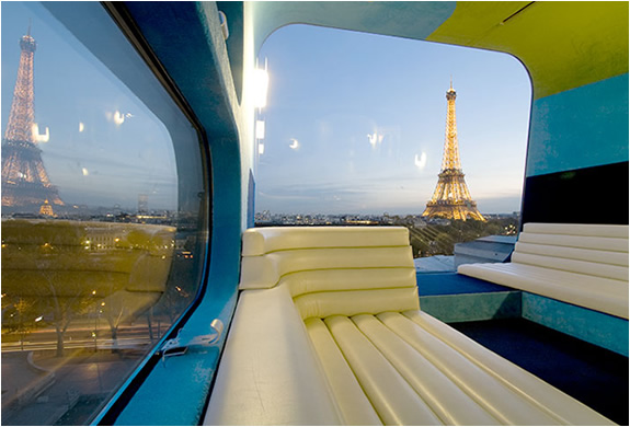 Everland Hotel Paris | One Room Hotel With Front Row Views Of The Eiffel Tower | Image