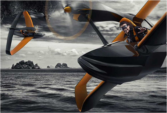 FLYNANO | SINGLE SEATER MINI HYDROPLANE | Image