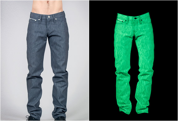 GLOW IN THE DARK JEANS | Image