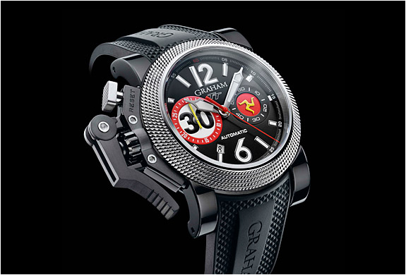 Chronofighter Oversize Tourist Trophy Watch | By Graham | Image