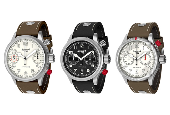 Pioneer Watch Collection | By Hanhart | Image