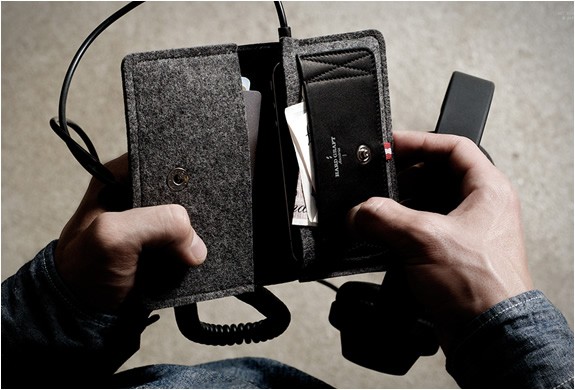 PHONE FOLD WALLET | BY HARD GRAFT | Image