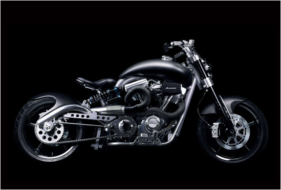HELLCAT COMBAT MOTORCYCLE BY CONFEDERATE | Image