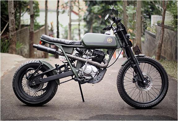 honda cb125 custom by hajarbroxx motorcycles all the. Black Bedroom Furniture Sets. Home Design Ideas