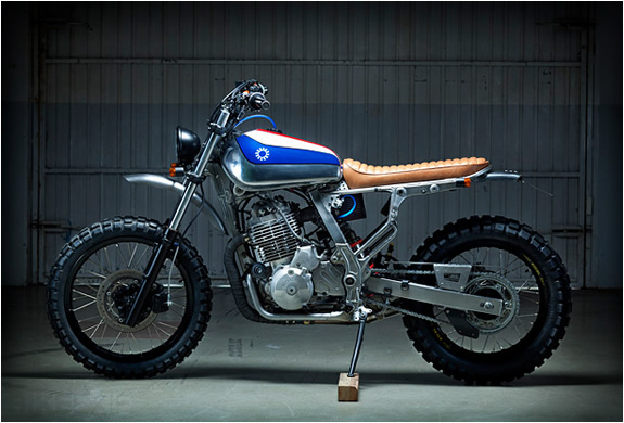 Honda Nx650 Custom | By Kiddo Motors | Image
