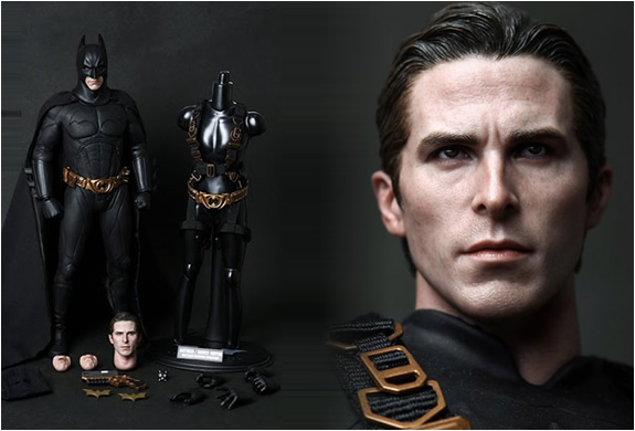 batman hyper realistic collectible figure by hot toys. Black Bedroom Furniture Sets. Home Design Ideas
