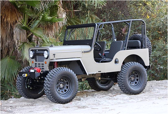 Icon Cj3b 4x4 Jeep | Image