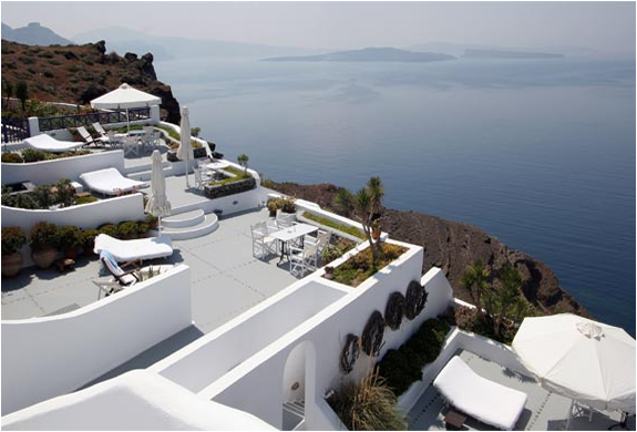 IKIES TRADITIONAL HOUSES | SANTORINI GREECE | Image