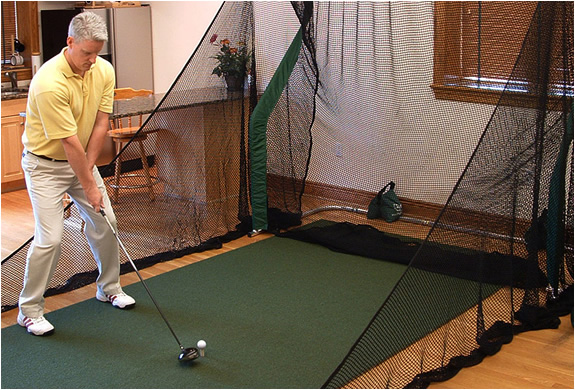 Indoor Golf Practice Net