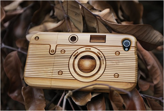 Iphone 4 Wooden Bamboo Case | Image