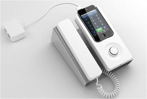 DESK PHONE DOCK | FOR IPHONE | Image