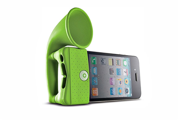 IPHONE PORTABLE AMPLIFIER HORN STAND | Image