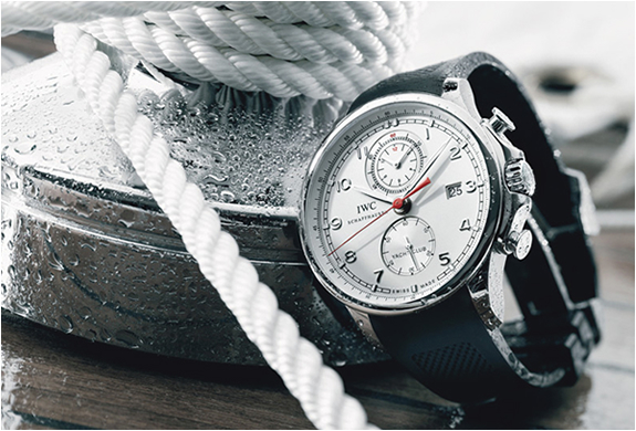 PORTUGUESE YACHT CLUB CHRONOGRAPH WATCH | BY IWC | Image