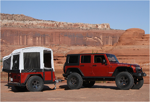 JEEP OFF-ROAD CAMPER TRAILER | Image
