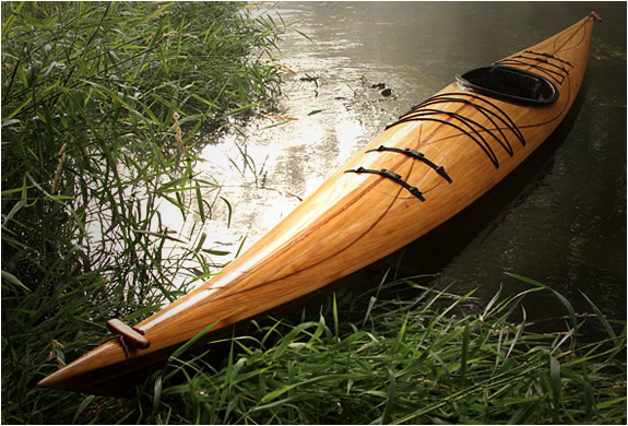 Wood Kayak | By Justin Charles | Image