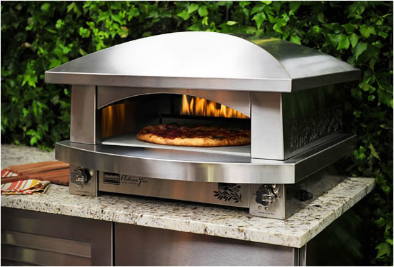 Pizza Oven Fire Only Here The Is Made Of Stainless Steel And Ed By Gas More