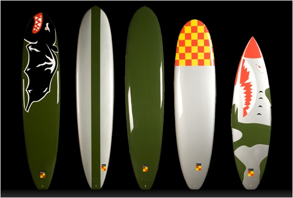 KANA SURFBOARDS INSPIRED BY WORLD WAR II FIGHTER PLANES | Image