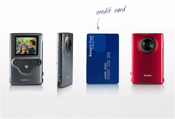 Credit Card Size Digital Camera | By Kodak | Image