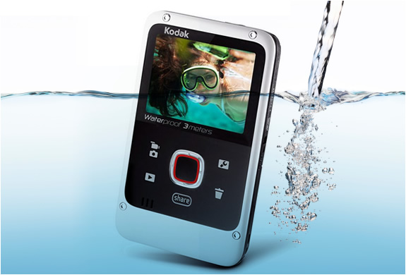 KODAK PLAYFULL | CREDIT CARD SIZE WATERPROOF VIDEO CAMERA | Image