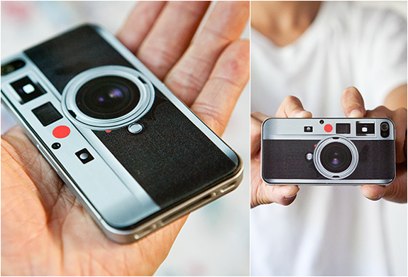 LEICA LOOK-ALIKE SKIN FOR IPHONE 4 | Image