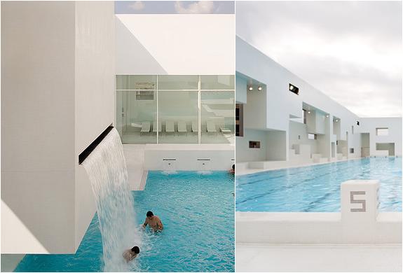 Les bains des docks modern swimming complex - Piscine bains des docks ...