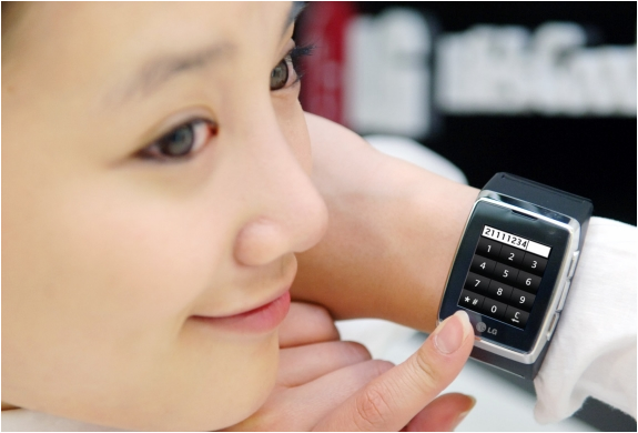 LG GD910 MOBILE PHONE WRIST WATCH | BY LG | Image