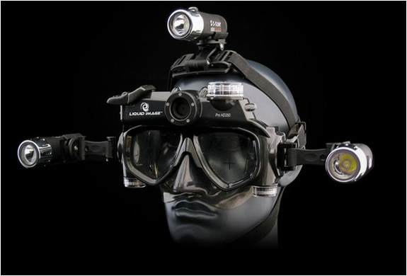 UNDERWATER HD WIDE ANGLE VIDEO MASK | BY LIQUID IMAGE | Image