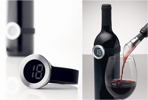 WINE THERMOMETER VIGNON | BY MENU | Image