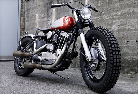 CUSTOM BUILT MONKEE #7 MOTORCYCLE | BY WRENCHMONKEES | Image
