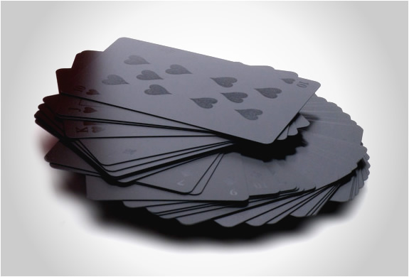 MONOCHROMATIC DECK OF CARDS | Image