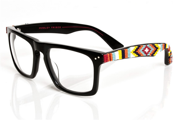 Beaded Sunglasses  mosley tribes lyndel beaded edition glasses