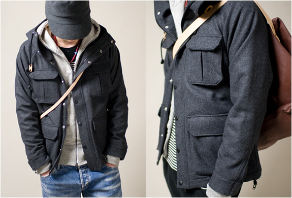 MOUNTAIN HOODED PARKA | BY SETH X ANOUTCOMMUNE | Image