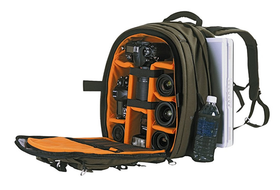 BACKPACK FOR CAMERA AND NOTEBOOK | BY NANEU PRO | Image