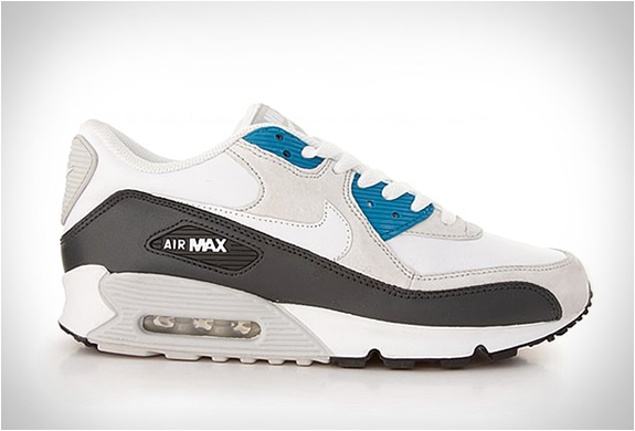 NIKE AIR MAX 90 | NEUTRAL GREY TEAL BLACK | Image