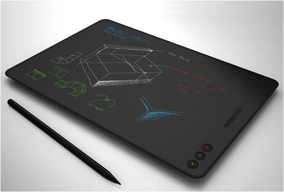 NOTESLATE | THE TABLET THAT IMITATES PAPER