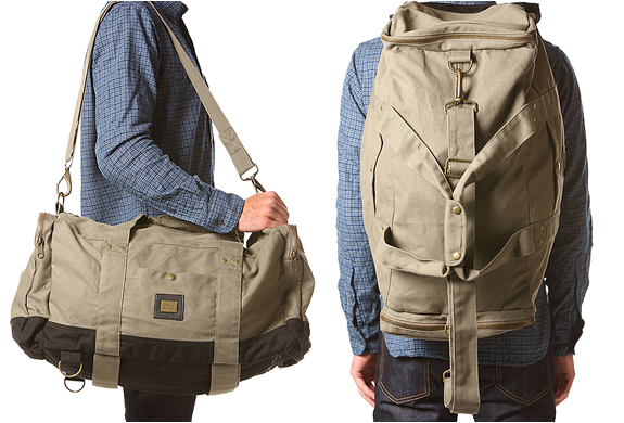 Army Green Duffle Bag | By Obey | Image