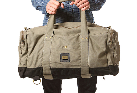 Army Green Duffle Bag By Obey