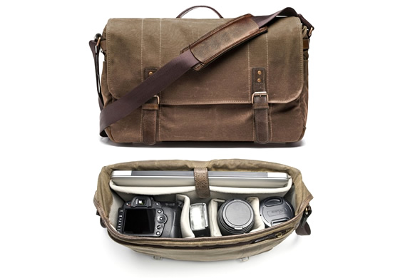 CAMERA AND LAPTOP MESSENGER BAG | BY ONA BAGS | Image
