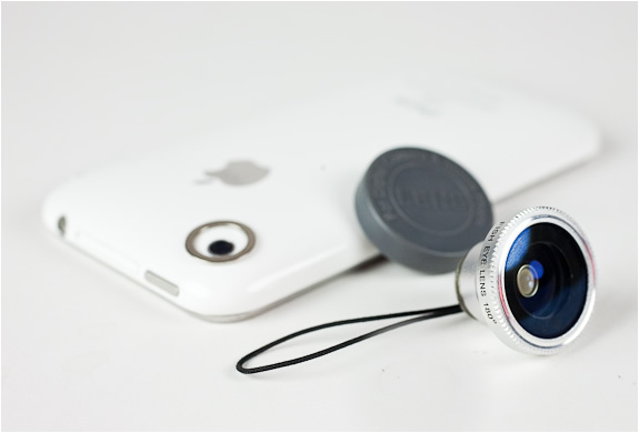 FISHEYE MACRO AND WIDE ANGLE CAMERA PHONE LENSES | Image