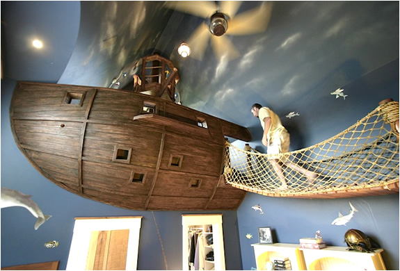 Pirate Ship Bedroom | By Kuhl Design Build | Image
