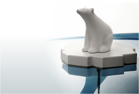 POLAR BEAR DRAIN STOPPER | Image