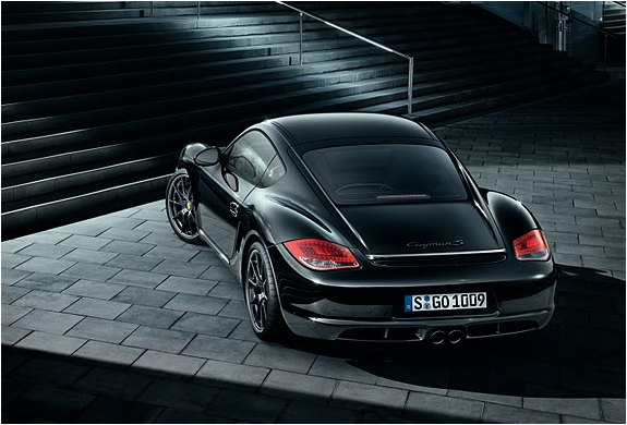 Porsche Cayman S Black Limited Edition