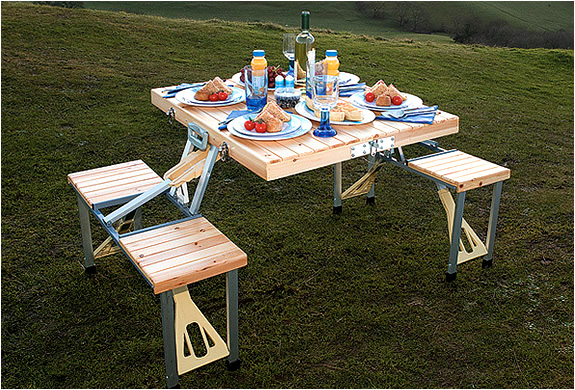 Beautiful Img_portable_picnic_table_with_storage_case_2 | Image