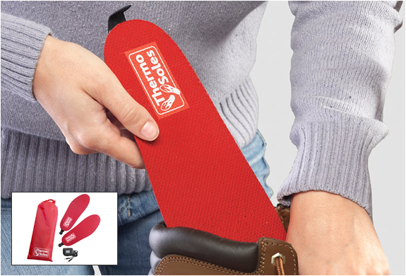 RECHARGEABLE HEATED INSOLES | Image